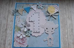 Kartka dla dziecka na roczek #