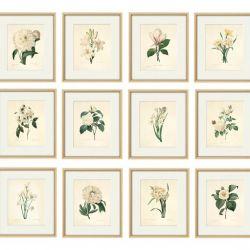 Kwiaty Vintage grafika wydruk prezent