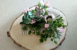 grzebień do włosów różowy