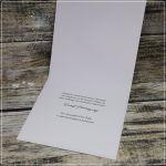 Kartka ślubna dla podróżników -z serduszkiem