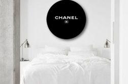 Chanel - obraz w okrągłej ramię