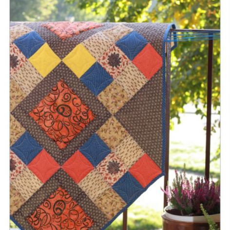 """Bieżnik jesienny """"sezon na dynie"""", patchwork"""