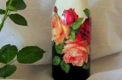 Butelka różana