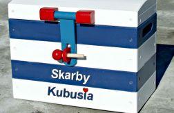 """Skrzynia kufer na zabawki """"Nautical R"""" ŚREDNI"""
