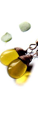 oliwkowe kropelki