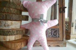 Miś przytulanka pluszak różowy - MintiLove
