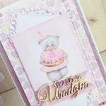 Kartka 3D Urodzinowa Daddy's Princess GOTOWA -