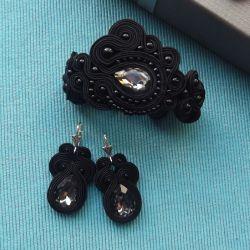 Kryształ & Małe czarne komplet sutasz