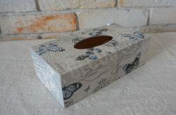 Pudełko prostokątne na chusteczki