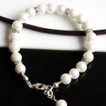 Perły Seashell - bransoletka - ślubna bransoletka