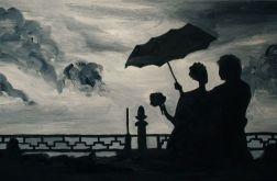 Para pod parasolem