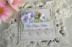 Ślubna kartka w pudełku 63