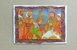 Kartka świąteczna - trzej królowie-nr 2