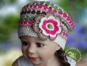 czapeczka /beret Daria
