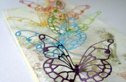 W Dniu Ślubu z tęczowymi motylami