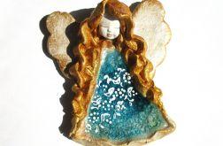 Anioł ceramiczny Basia 36 chrzest ślub