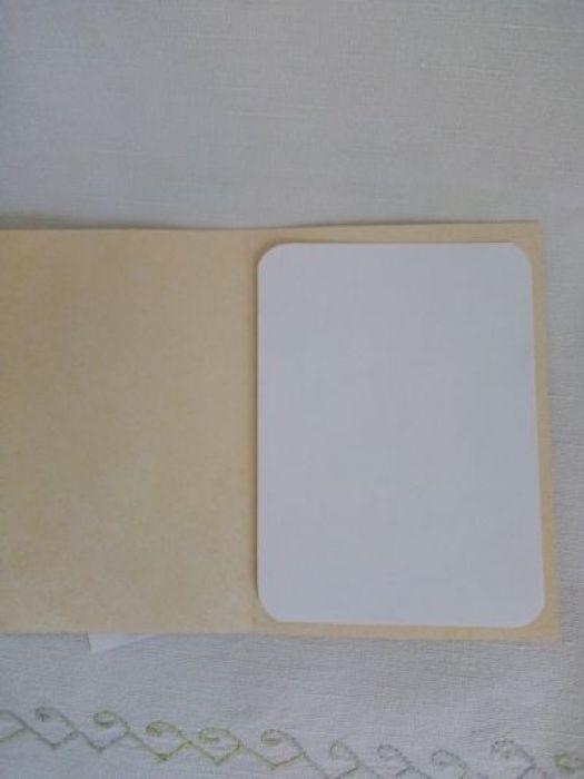 Kartka okazjonalna  ze słonecznikiem - środek kartki