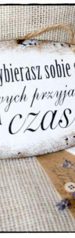Szyld Tabliczka z napisem ~O przyjaźni~
