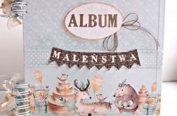 Album maleństwa-niebieski/25x25cm