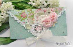 Kopertówka urodzinowa z kryształkami