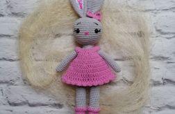 Spersonalizowany króliczek w sukience