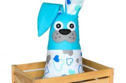 Królik ~ maskotka z kieszonką ~ hearts&blue