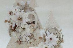 Drewniane choinki bożonarodzeniowe 2 szt #2