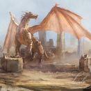 Obraz - Smok - Dragon - płótno