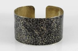 Lawa - mosiężna bransoletka 210605-02