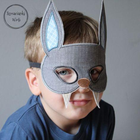 Maska dla dzieci i dorosłych - NIETOPERZ
