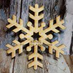 Śnieżki ze sklejki