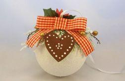 Bombka świąteczna śnieżna kula (2)