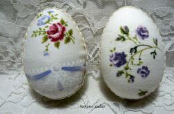Jajka w tkaninie w kwiaty 8 szt.