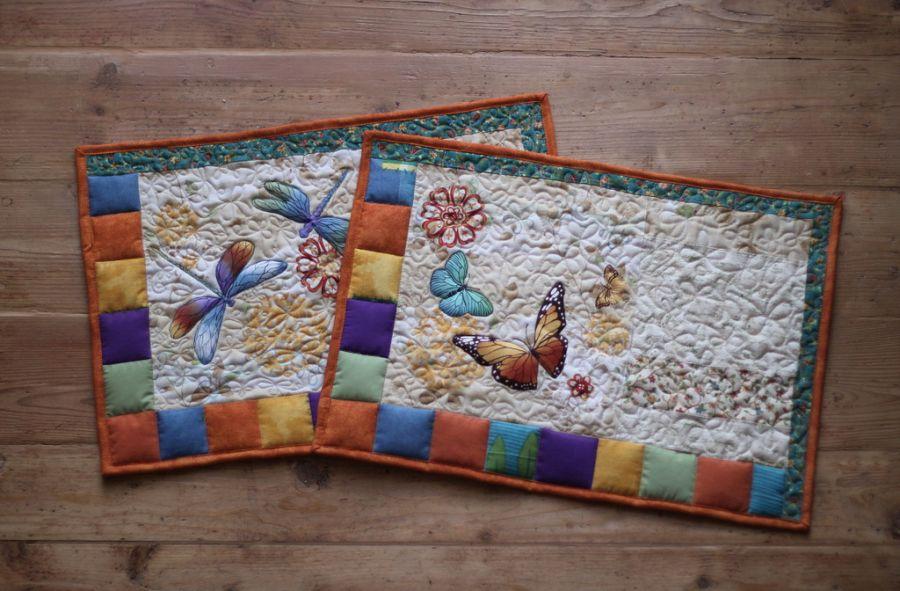 Podkładki patchworkowe -