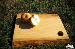 Deska do serwowania potraw z drewna wiązu