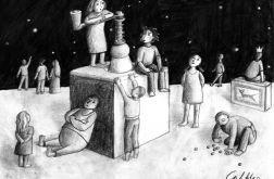 Młynek - oryginalny rysunek 9801