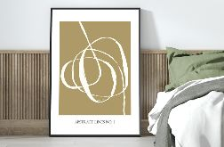 Plakat ABSTRACT LINES no.1 50x70 cm