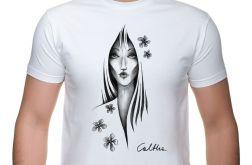 Kwiat - t-shirt męski - różne kolory