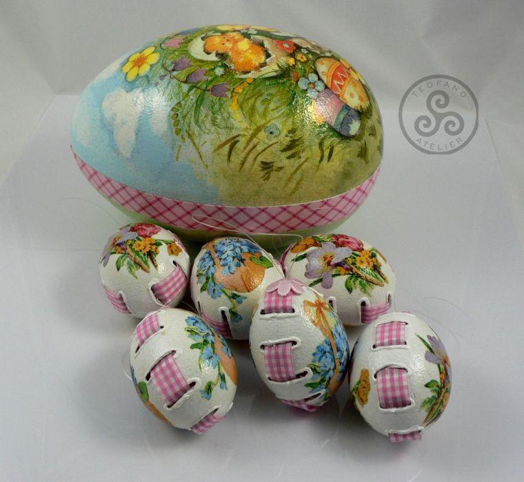 Wydmuszki kurze 6szt w pudełku - egg