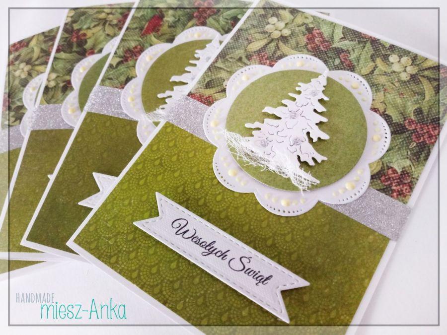 Wyjątkowe KARTKI ŚWIĄTECZNE - 27 - Boże Narodzenie, choinka, stajenka, szopka, święta rodzina, okolicznościowe