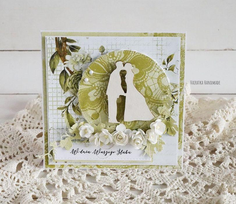 Kartka ślubna, 530 -