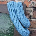 Niebieski otulacz