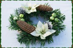Stroik Świąteczny Adewntowy Bożonarodzeniowy Sianko GRATIS