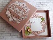 Kartka na Chrzest # 4br w pudełku