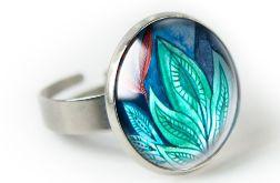 Natura pierścionek z ilustracją