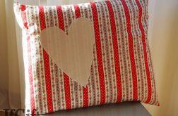 DUŻA poduszka z sercem