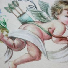 torba worek jedwabny aniołek- na Fundację