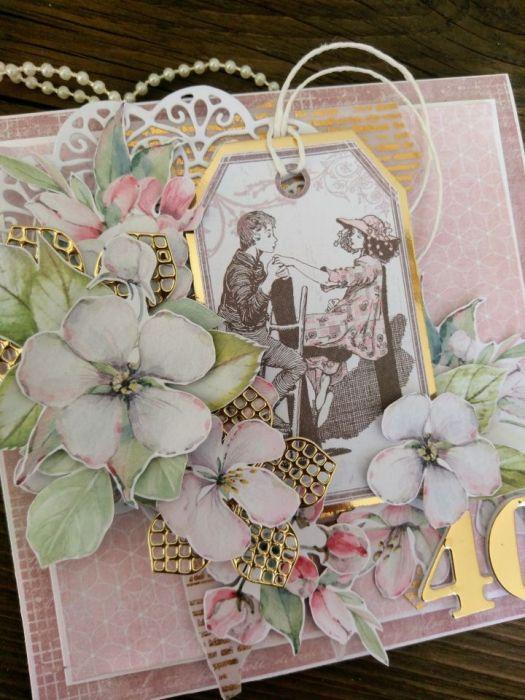 Kartka z okazji 40 urodzin #2
