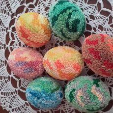 Jajko -Wielkanoc- quilling.9 cm.