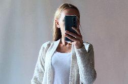 Długi sweter, płaszczyk, kardigan 01